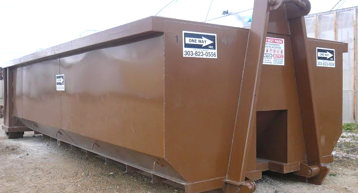 Roll Off Dumpsters in Colorado